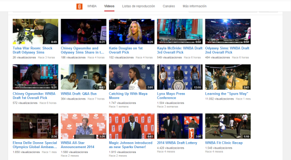 youtube wnba