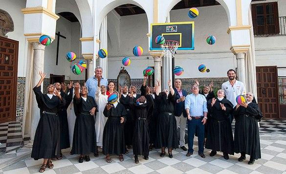Monjas del convento de San Leandro