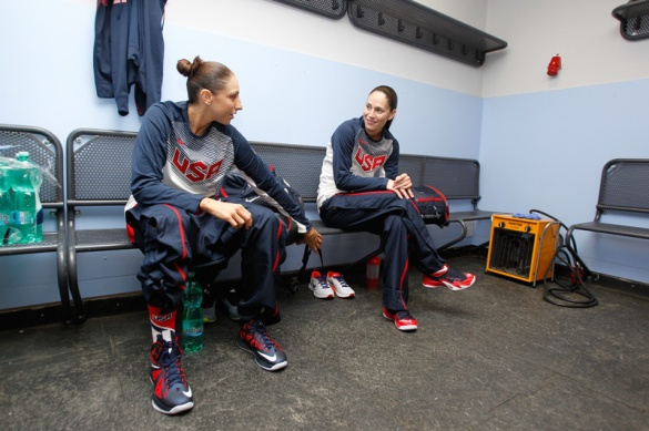 Diana Taurasi y Sue Bird