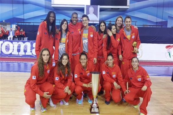 España campeona del torneo de Minsk