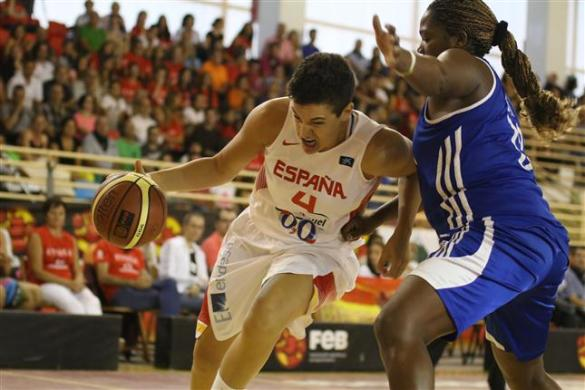España contra Cuba. Torneo de Logroño