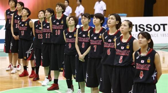 Selección de Japón. Foto: fiba.com