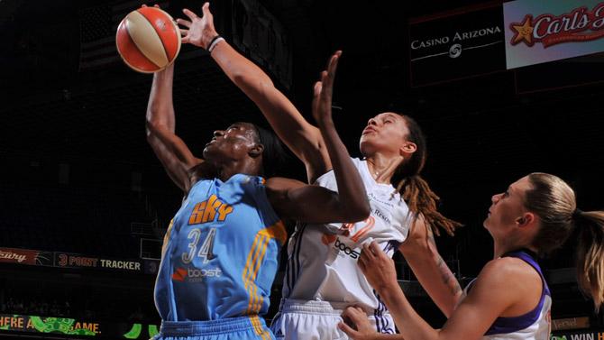 Brittney Griner, récord de tapones en la WNBA