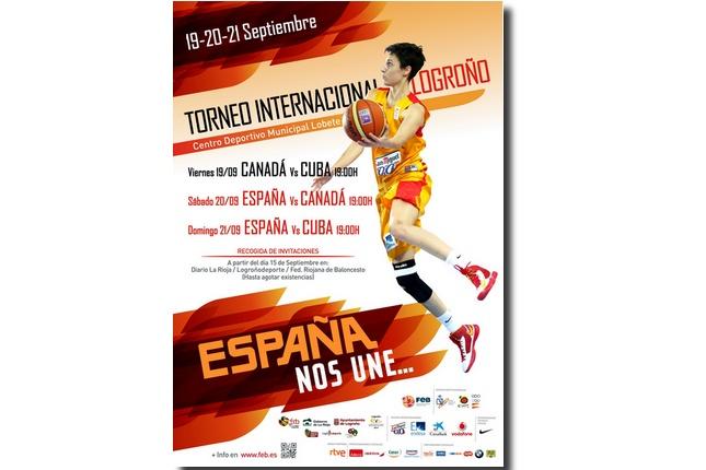 cartel torneo internacional de logroño