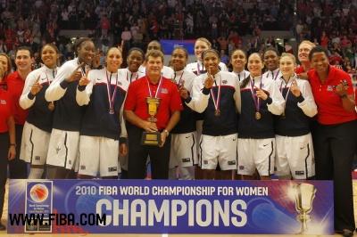 estados unidos campeonas del mundo de 2010