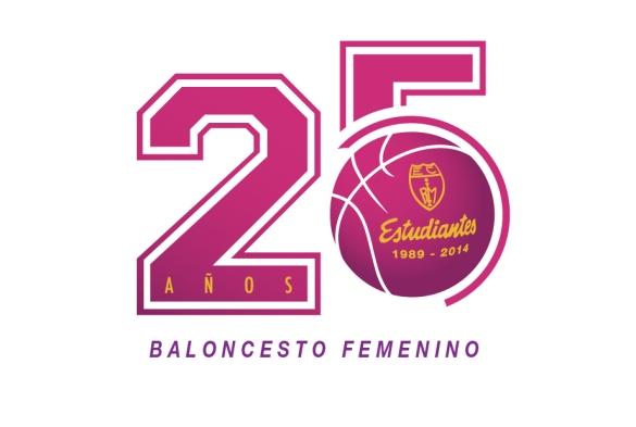 Estudiantes logo 25 aniversario Equipo Femenino