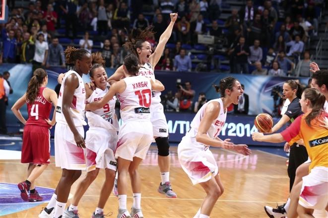 Semifinales del Mundial de Turquía. España - Turquía