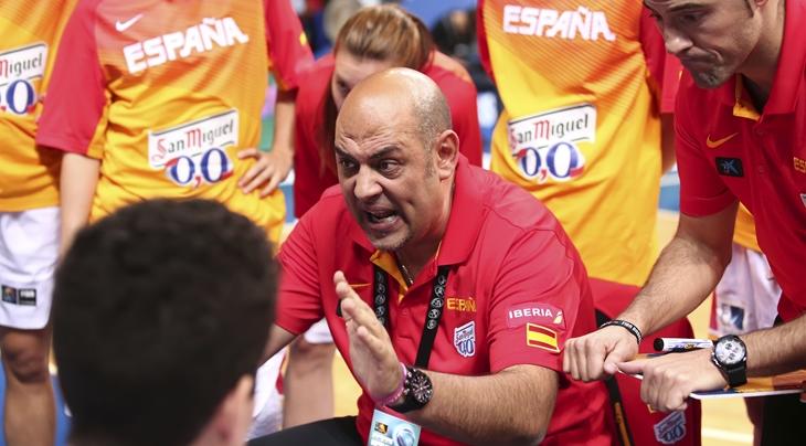 Lucas Mondelo, seleccionador de España