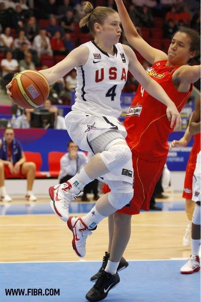 Mundial de República Checa de 2010. Enfrentamiento de semifinales entre Estados Unidos y España
