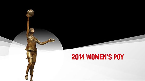 jugadora del año FIBA Europe