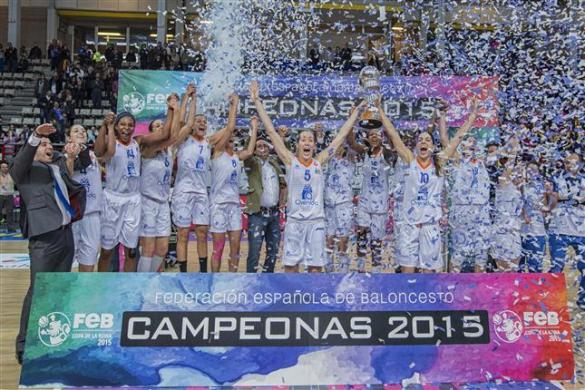 Perfumerías Avenida. Campeón Copa de la Reina 2015