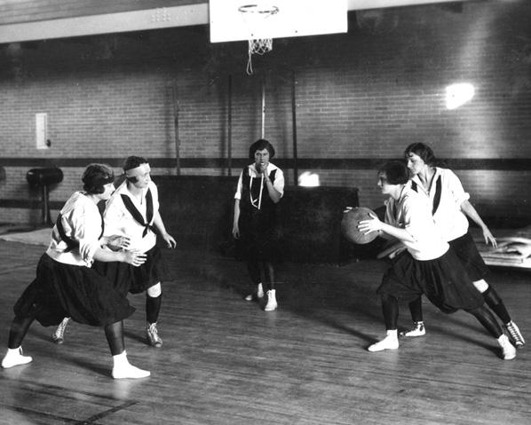 Baloncesto femenino en la Universidad de Missouri en 1925