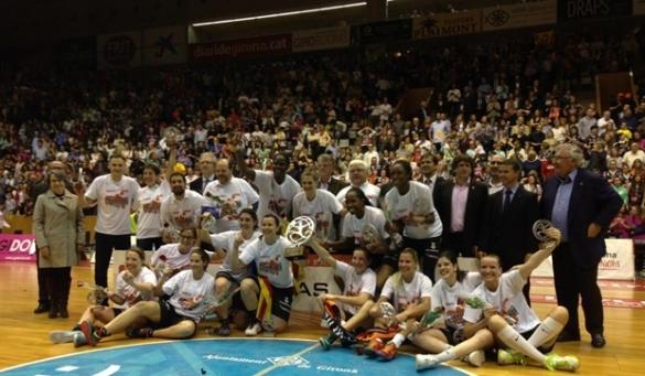 Spar Citylift Girona campeón de la Liga Femenina 2014-2015