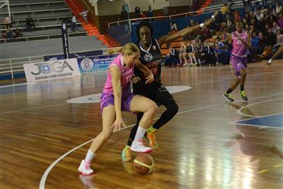 Spar Citylift Girona contra Conquero Huelva Wagen. Playoff de Liga Femenina.