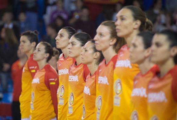 Selección española en el torneo internacional de santander