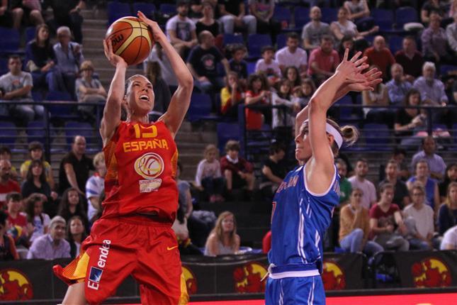 Torneo Internacional de Selecciones Absolutas de Logroño. España contra Gran Bretaña