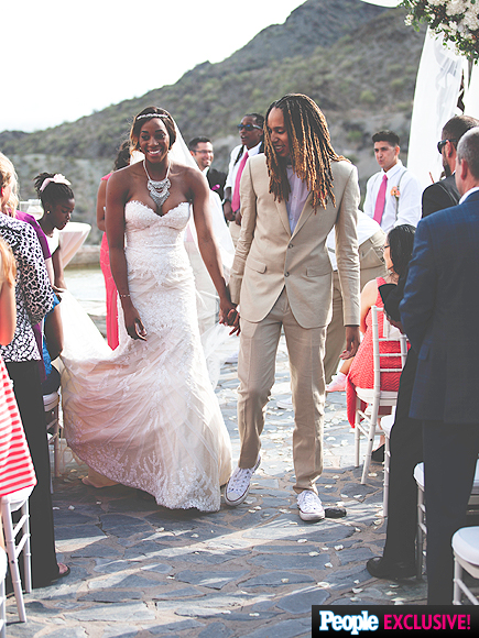 Glory Johnson y Brittney Griner.