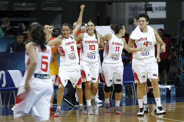selección española femenina de baloncesto