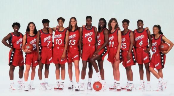 Selección de Estados Unidos 95-96.