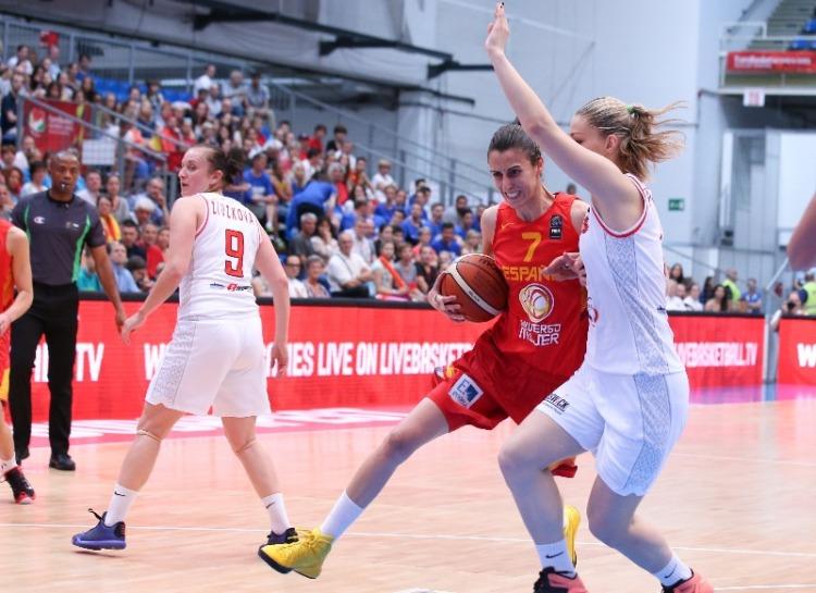 Bielorrusia - España. Eurobasket de Hungría y Rumanía.