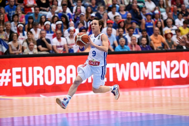 FRANCE EDGE RUSSIA TO MAKE SEMIS AGAIN France squeezed into the last four of EuroBasket Women for the fourth time in a row after coming out on top in a nerve-wracking 77-74 quarter-final triumph against Russia.     Turning Point: An unsportsmanlike foul called on Irina Osipova inside the last minute swung the momentum the way of France at the most crucial time.     Stats Don't Lie: Maybe sometimes stats do lie a little as incredibly, Russia shot a wonderful 59.2% from the field but still lost the game. Giving up 19 points from turnovers did however hurt them.     Game Heroes: Birthday girl Sandrine Gruda gave herself a cause for double celebration after a stellar 23 points, Endene Miyem returned from injury to contribute 18 points, while Celine Dumerc had a typically influential 13 points, nine assists and four steals.     The Bottom Line: Russia will be kicking themselves for not quite being able to get over the line right at the death and while their podium hopes are finished, head coach Anatoliy Myshkin reiterated that the Olympic Qualifying Tournament was the aim. France were pushed hard and will feel a big chunk of relief having blown a double-digit lead in the final quarter before recovering.