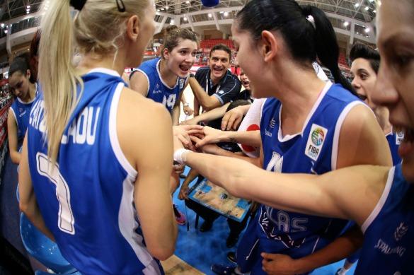 Selección de Grecia. Eurobasket de Hungría y Rumanía.