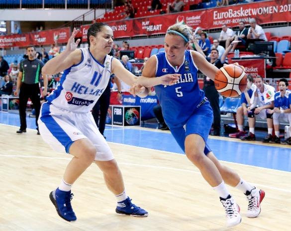 Italia. Eurobasket 2015 de Hungría y Rumanía.