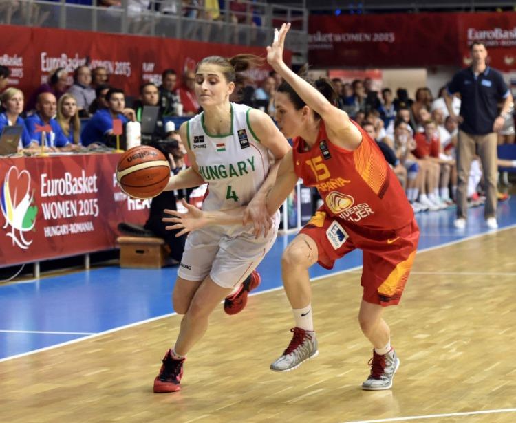 Hungría contra España. Eurobasket de Hungría y Rumanía.