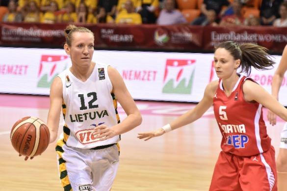 Lituania contra Croacia. Eurobasket de Hungría y Rumanía