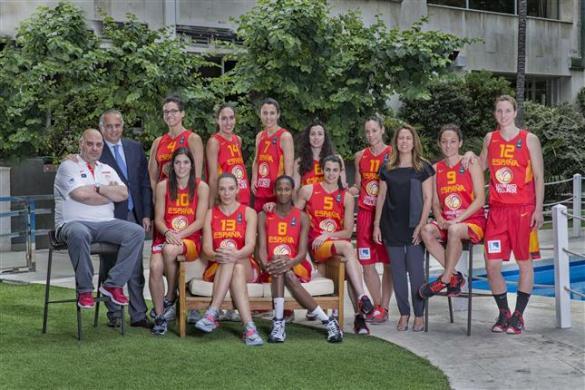 Plantilla de la selección española para el Eurobasket de Hungría y Rumanía.