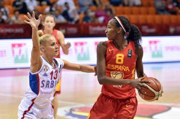 Serbia contra España. Eurobasket de Hungría y Rumanía.