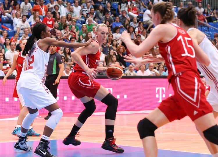 Turquía contra Rusia. Eurobasket Hungría y Rumanía