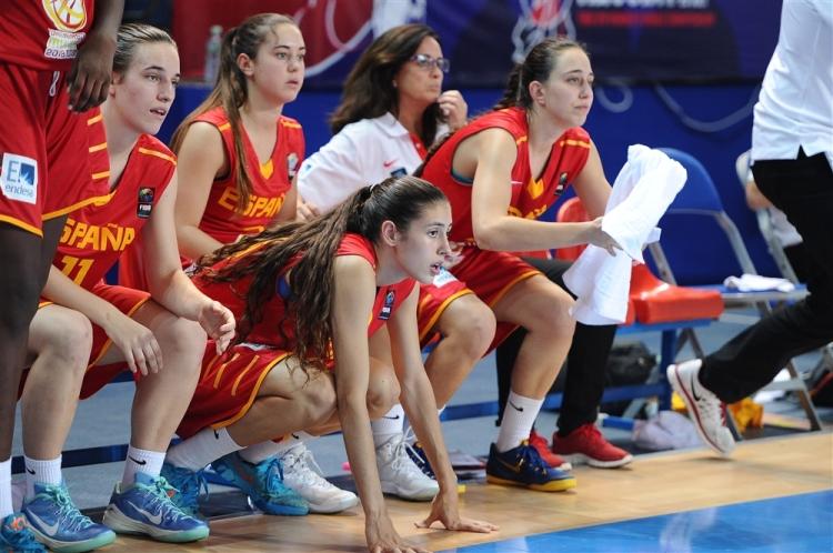 Australia contra España. Tercer y cuarto puesto. Mundial U19 Femenino.