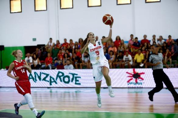 España contra República Checa. Europeo U20 Femenino.