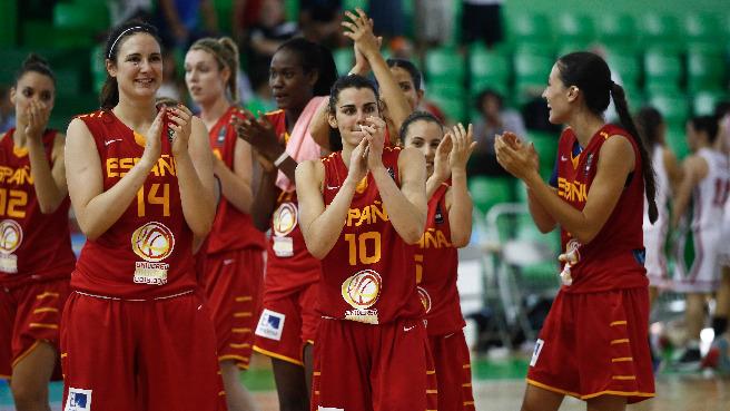 Europeo U20 femenino de Lanzarote. España campeona de Europa tras derrotar a Francia