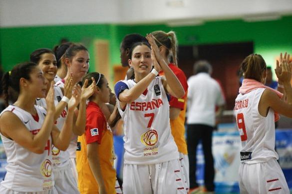 La selección U20 celebrando el pase a cuartos de final