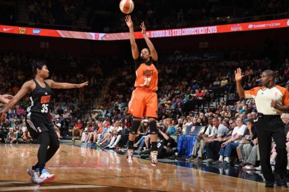 Partido WNBA All-Star 2015
