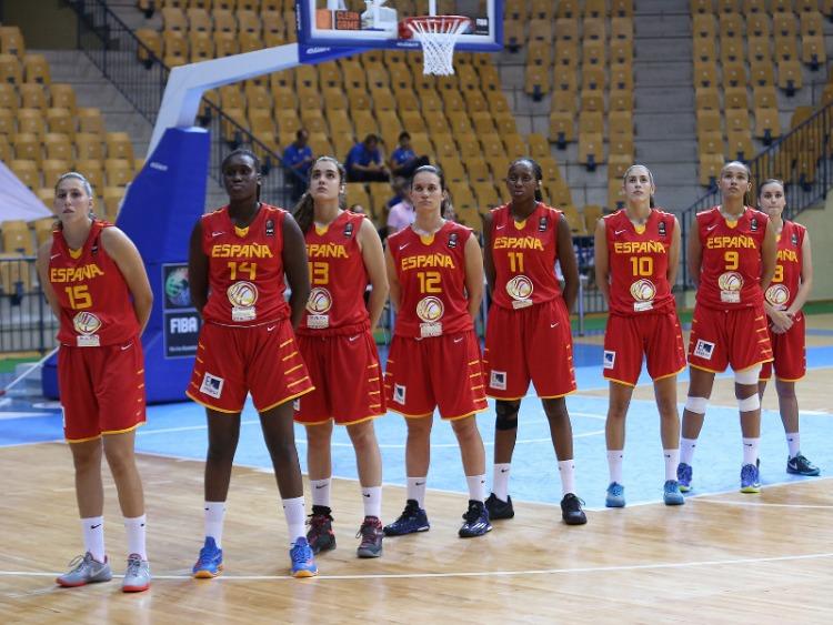 Final Europeo U18 Femenino entre España y Francia.