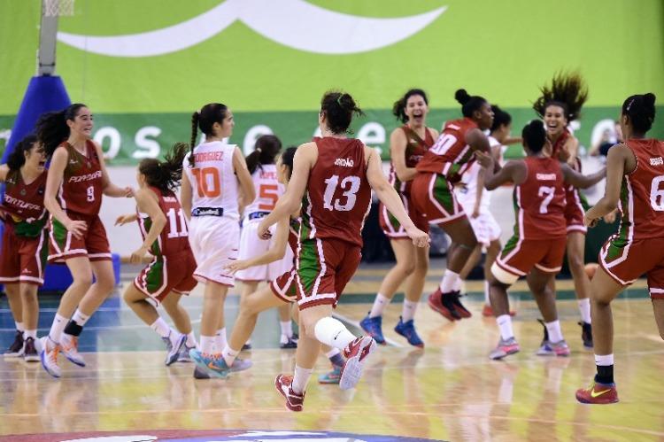 Portugal celebra el pase a la final del Europeo U16 Femenino