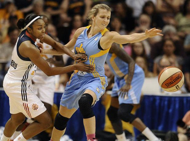 Allie Quigley de Chicago Sky elegida mejor sexta jugadora de la WNBA.