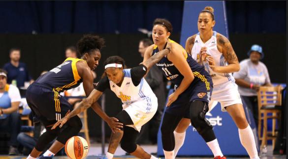WNBA Playoffs. Chicago Sky contra Indiana Fever