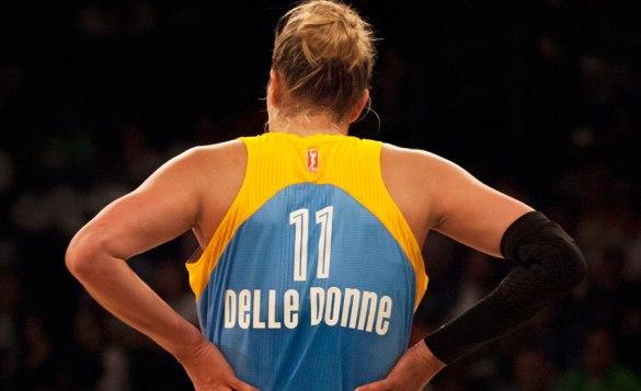 Elena Delle Donne récord de acierto en tiros libres en la WNBA