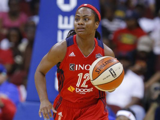 Ivory Latta de Washington Mystics