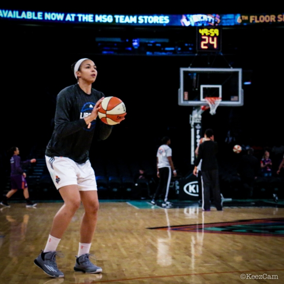 Kiah Stokes de New York Liberty.