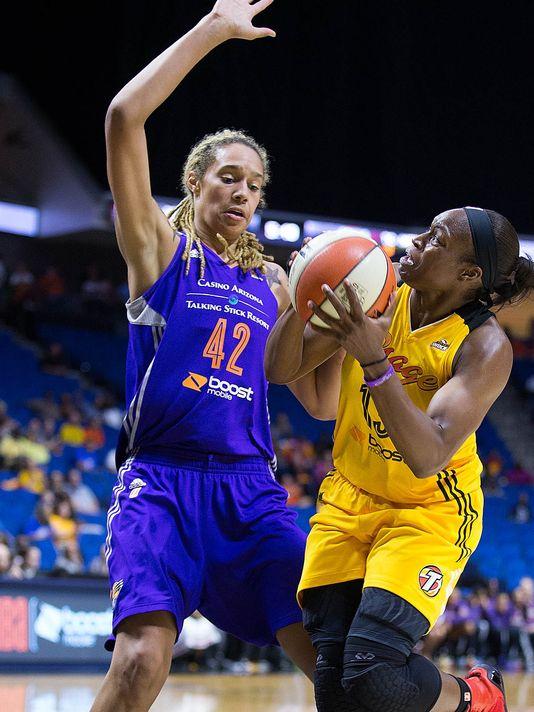 WNBA Playoffs. Partido entre Phoenix Mercury y Tulsa Shock