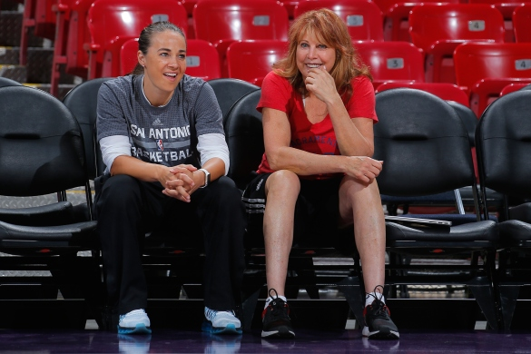 Becky Hammon y Nancy Liberman