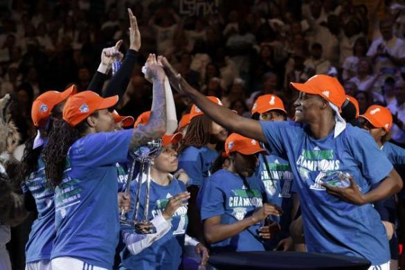 Minnesota Lynx nuevo campeón de la WNBA