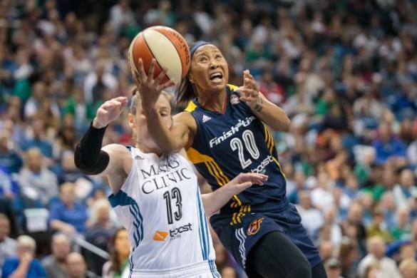 Minnesota Lynx contra Indiana Fever. WNBA Finals