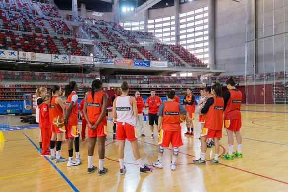 Preparación de España para la clasificación del Eurobasket 2017