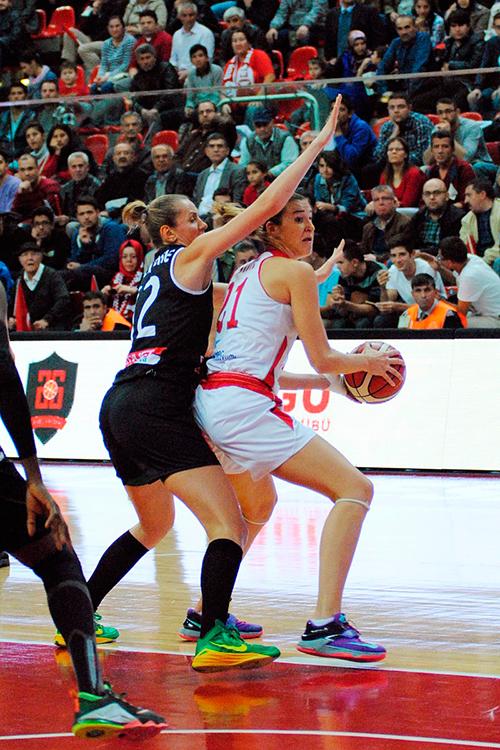 Euroliga Femenina. Agü Spor frente a Spar Citylift Girona